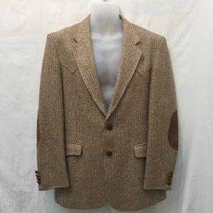 Farah Wool Jacket Blazer Western style Sz 42 USA